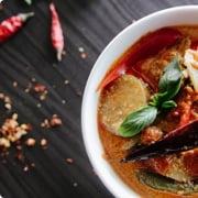 タイ・ベトナム・インド料理のイメージ画像