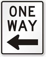 Left-Arrow-One-Way-Sign-X-R6-2L_R
