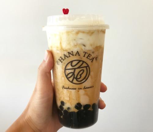 thHana tea hawaii tapioka boba