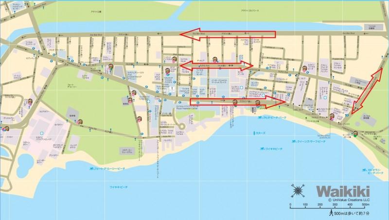 waikii map