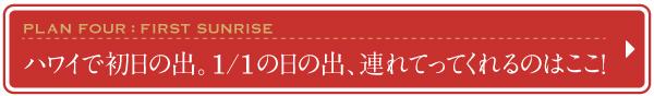 2016 2017 ハワイ 年末年始 おすすめ プラン ツアー 元旦 初日の出 1/1