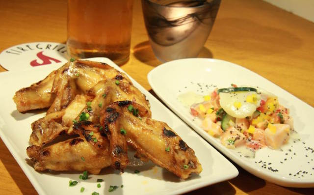 Ceviche and Wings のコピー
