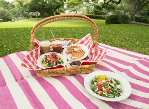 picnic spalding house ハワイのスポーディングハウスのピクニック