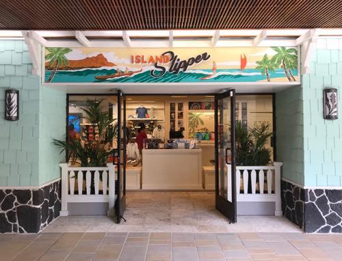 アイランドスリッパ ロイヤルハワイアンセンター Island slipper  ハワイ