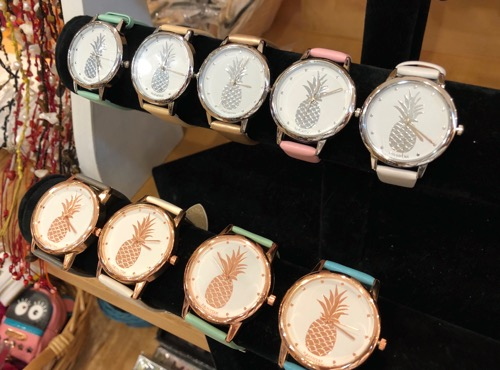 ハワイのハミルトン ・ブティックのお土産時計