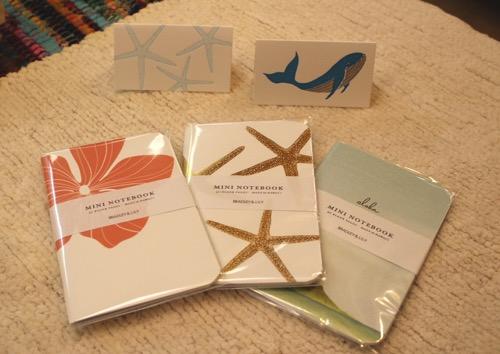 ブラッドリー&リリーのノート&カード