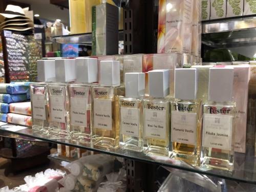 ハワイのローソンステーションの香水