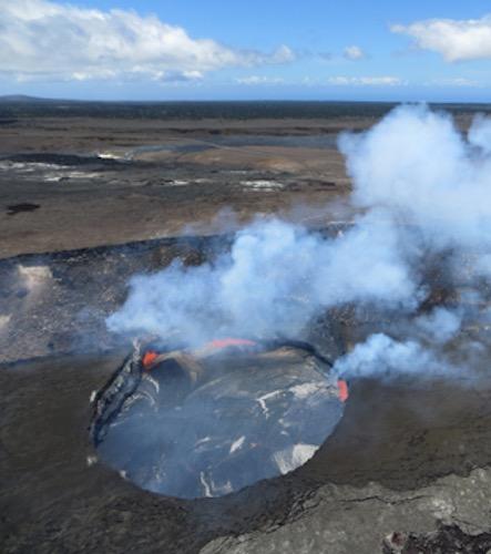 ハワイ島 キラウェア火山 爆発