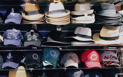 ハワイのローソンステーションの帽子