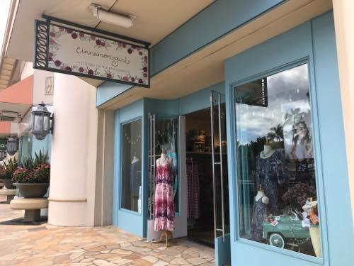 シナモンガール ハワイ ワイキキ カラカウア沿い 雑貨