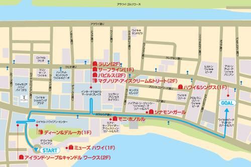 th_Waikiki map
