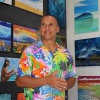 ハワイ・ノースショア!海とサーフィンの週末アートイベント情報@ザ・アートオブヒルトン・アートボックスギャラリー