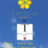 ハワイの夏に食べたくなる★幻のかき氷Lemona Hawaiiが期間限定でDFS内に登場‼︎