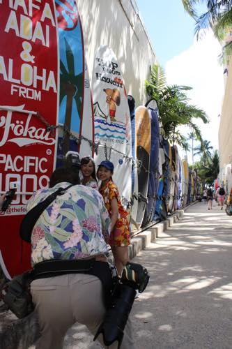 ハワイ サーフライン ワイキキ インターナショナルマーケットプレイス ショッピング