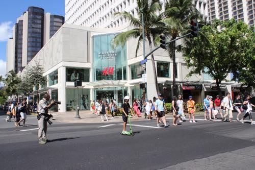 ハワイ サーフライン ワイキキ インターナショナルマーケットプレイス ショッピング カラカウア