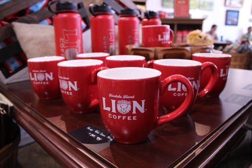 hawaii lion coffee mugs ハワイのライオンコーヒー マグカップ