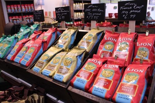 hawaii lion coffee new package ハワイのライオンコーヒー 新しいパッケージ