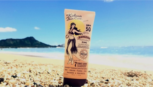 kokua sunscreen  hawaii ハワイのコクアサンスクリーン ナチュラルサンスクリーン オーガニック日焼け止め