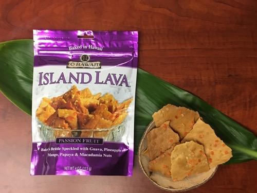 ハワイのアイランドラバ クッキー hawaii island lava coockie