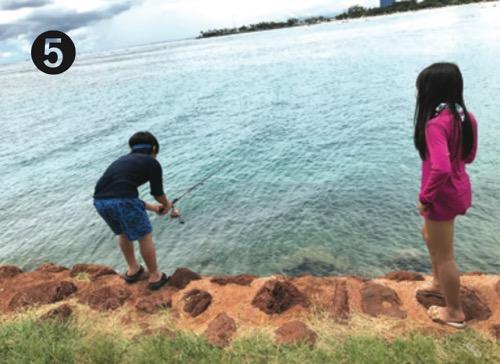 マジックアイランド つんくファミリー 釣り フィッシング ハワイ