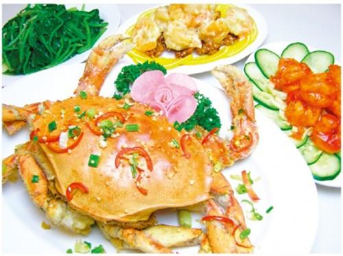 ハウスオブウォン ハワイ カパフル 中華料理 カニ