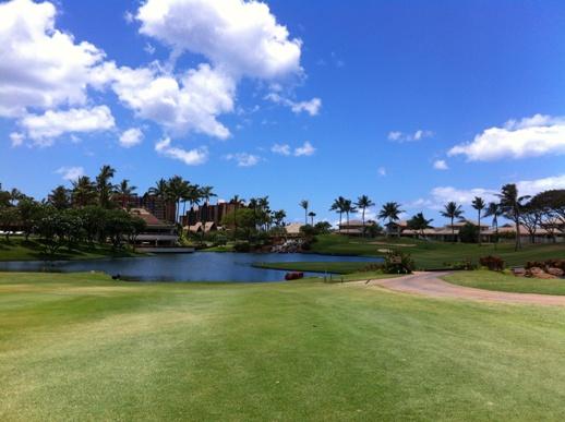 ハワイ ゴルフ場