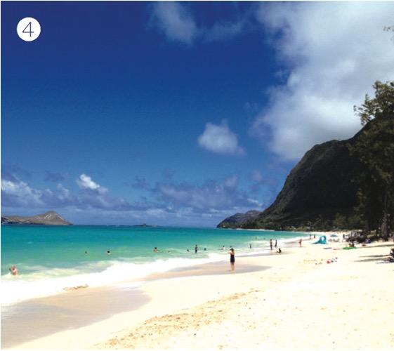 ワイマナロビーチ ハワイ