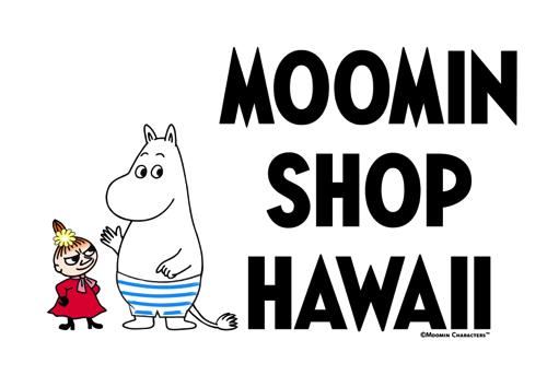 ムーミンショップ・ハワイ moomin shop hawaii logo ロゴ