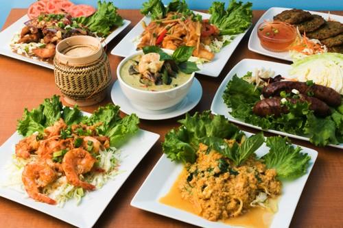 エスアンドエスタイキッチン ハワイ ワイキキ タイ料理 タイ