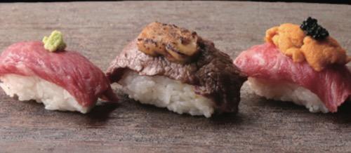 大阪焼肉ホルモン ふたご ハワイ店 肉寿司