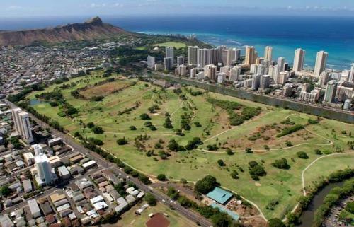 Ala_Wai_Golf_Course hawaii ハワイ アラワイゴルフコース