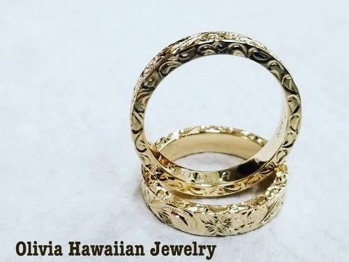 オリビアハワイアンジュエリー ハワイアンジュエリー ハワイ ワイキキ ロイヤルハワイアン 指輪
