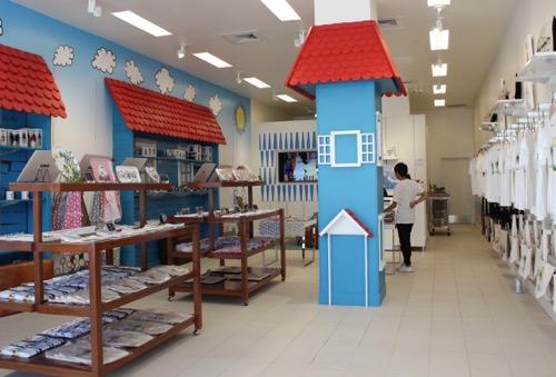 ムーミンショップ・ハワイ moomin shop hawaii 内観