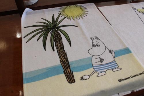 ムーミンショップ・ハワイ moomin shop hawaii face towel フェースタオル