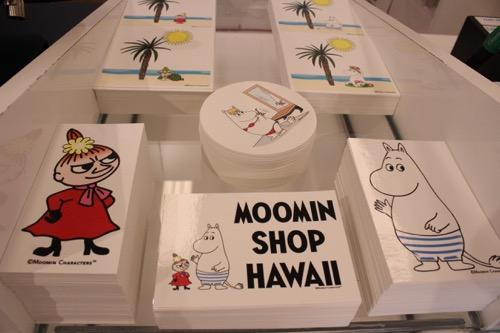 ムーミンショップ・ハワイ moomin shop hawaii  ステッカー Sticker