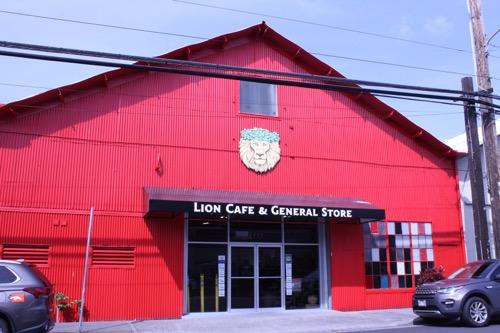 ハワイのライオンコーヒー 工場 外観 hawaii lion coffee factory