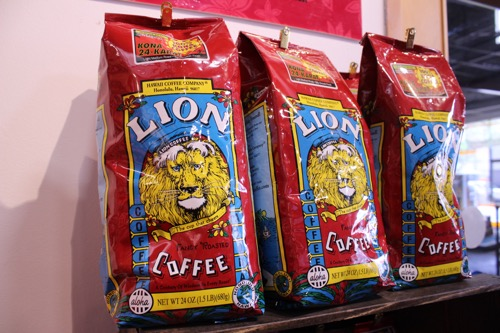 ハワイのライオンコーヒー hawaii lion coffee