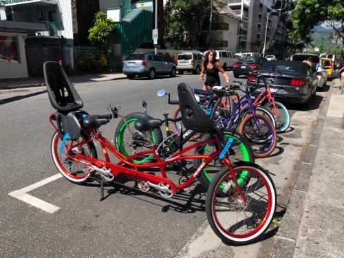ペデゴワイキキ ワイキキ レンタル自転車 ハワイ ワイキキ