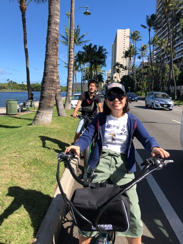 ハワイ レンタルバイク ワイキキ ペデゴワイキキ ペデゴ pedego waikiki hawaii rental bike