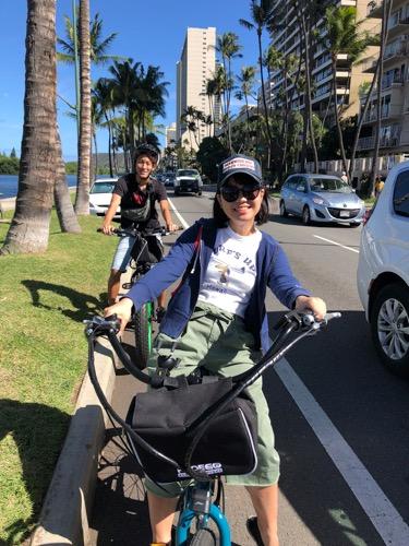 ペデゴワイキキ ハワイ レンタル自転車 ペデゴワイキキ