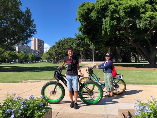 ハワイ ペデゴワイキキ ワイキキ ペデゴ レンタル自転車