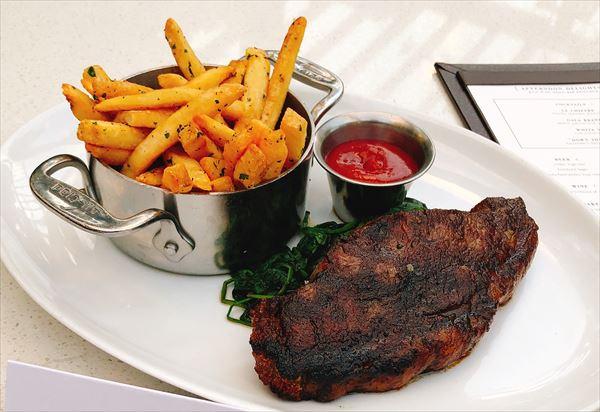 Strip steak waikiki