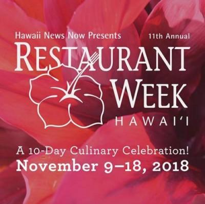hawaii restaurantweek food groumet