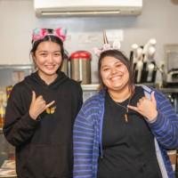 Staff Unicorn Cafe Hawaii Waikiki Restaurant Cafe