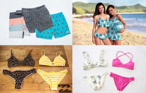 bikini swimshorts hawaii beach local motion billaboung functionsurf loco boutique