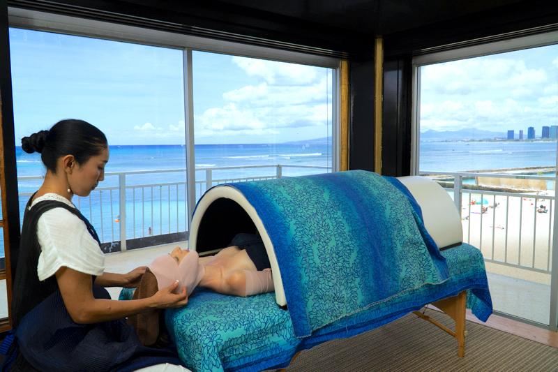massage salon jujube hawaii wedding 結婚式 ウェディング ブライダルエステ マッサージ ハワイ ジュジュベ クレオパトララップ 有吉の夏休み