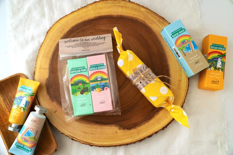 hawaii wedding gift kahala cosmetics