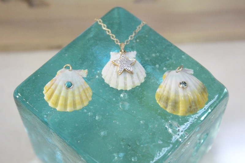 thmanoa love design hawaii waikiki jewelry hawaiian jewelry gold customize 14k shell sunrise shell ハワイ アクセサリー ハワイアンジュエリー マノアラブデザイン33