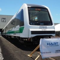 thhawaii train rail HART HITACHI ハワイ鉄道