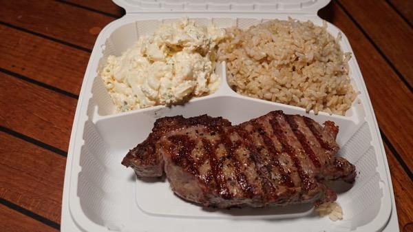 アロハステーキハウス テイクアウトメニュー ハワイ  レストラン6